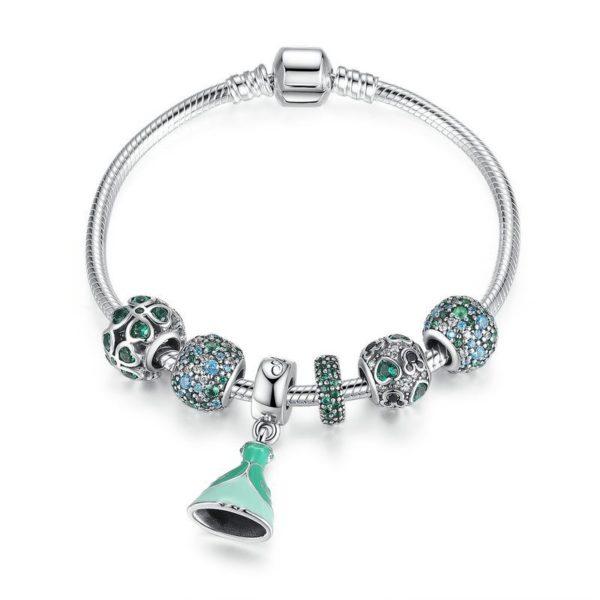 Princess charm bracelet set