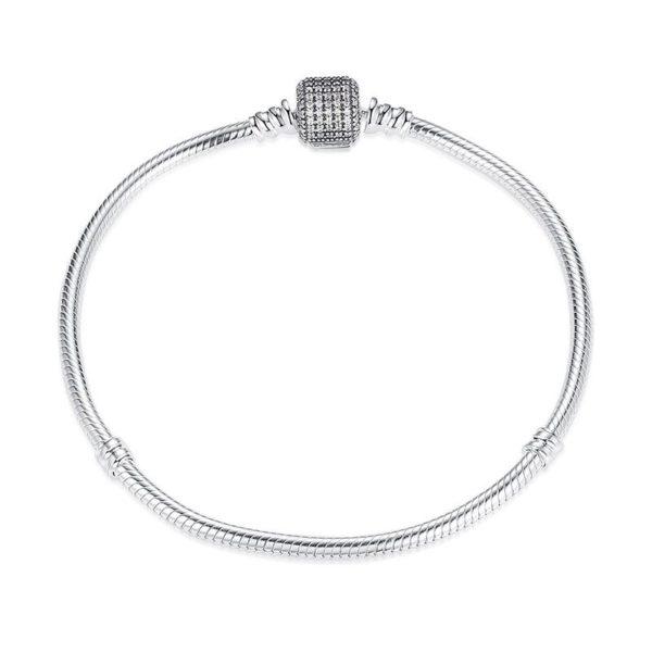 Gem encrusted charm bracelet