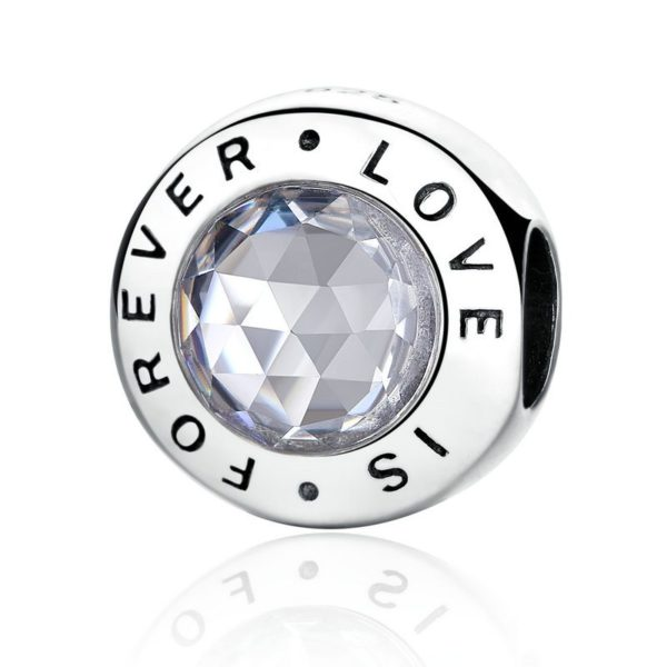 'Love is forever' charm
