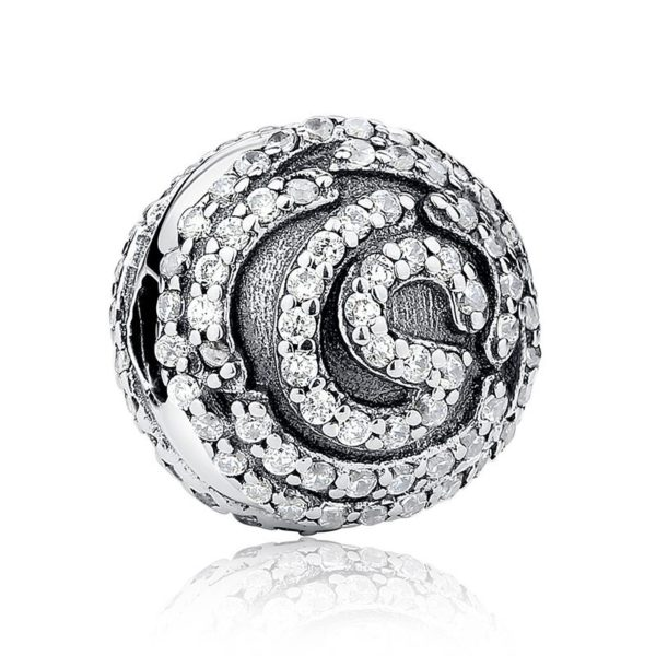 Spiral patterned charm