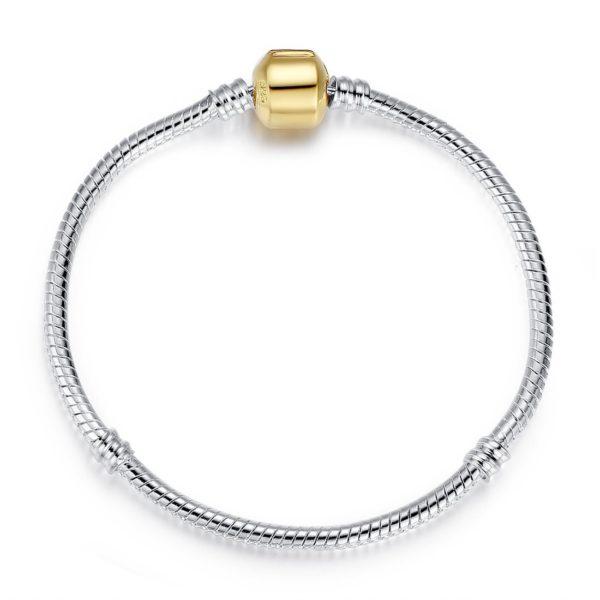 Cute heart detailed chain bracelet
