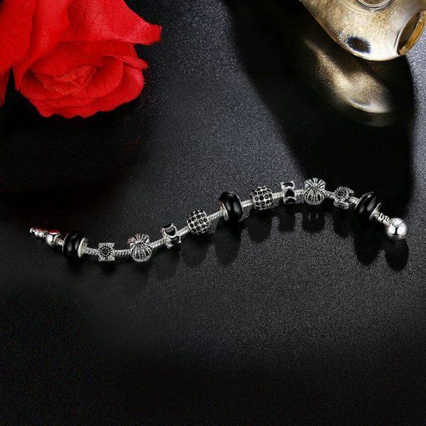 Adorable charm bracelet set