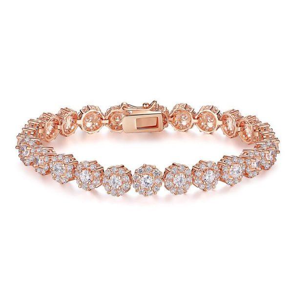 Perfect gem encrusted bracelet