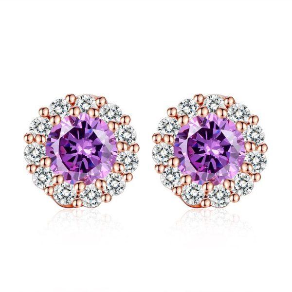 Super gem stud earrings