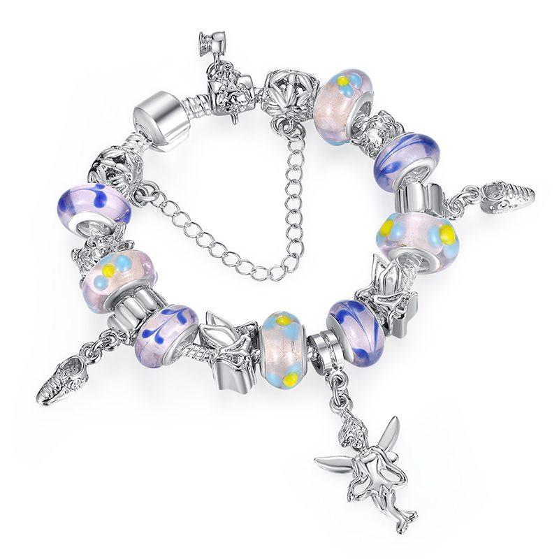 Fairy Princess charm bracelet set