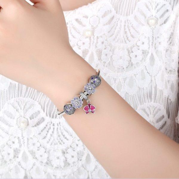 'Sweet Mother' charm bracelet set