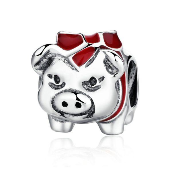 Little piggy charm