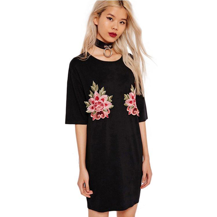 Sexy fresh floral designed dress