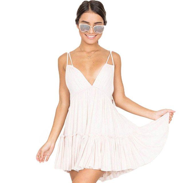 Precious white dress