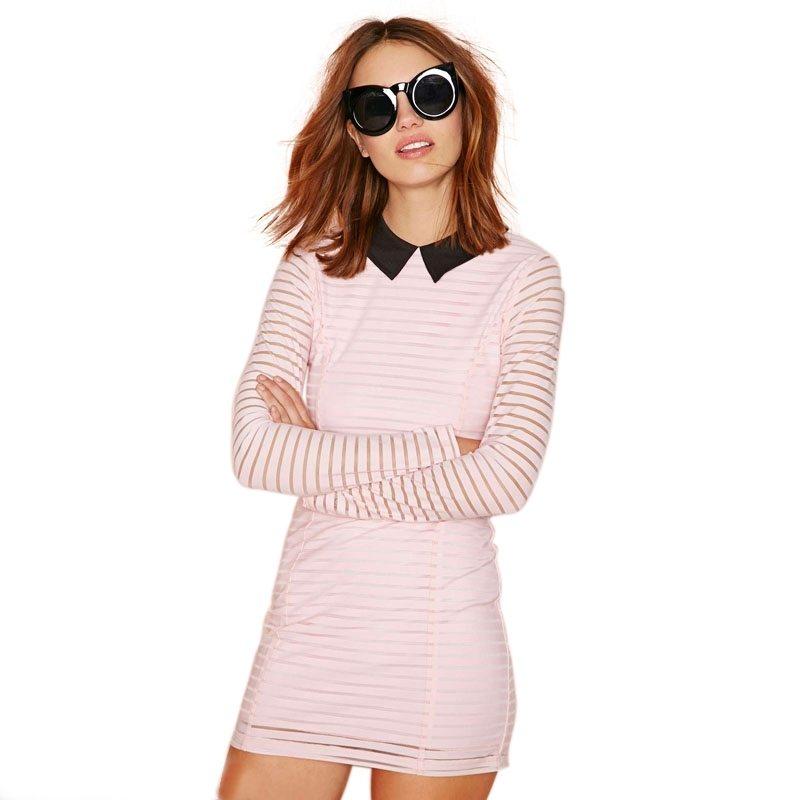 Smart collared dress