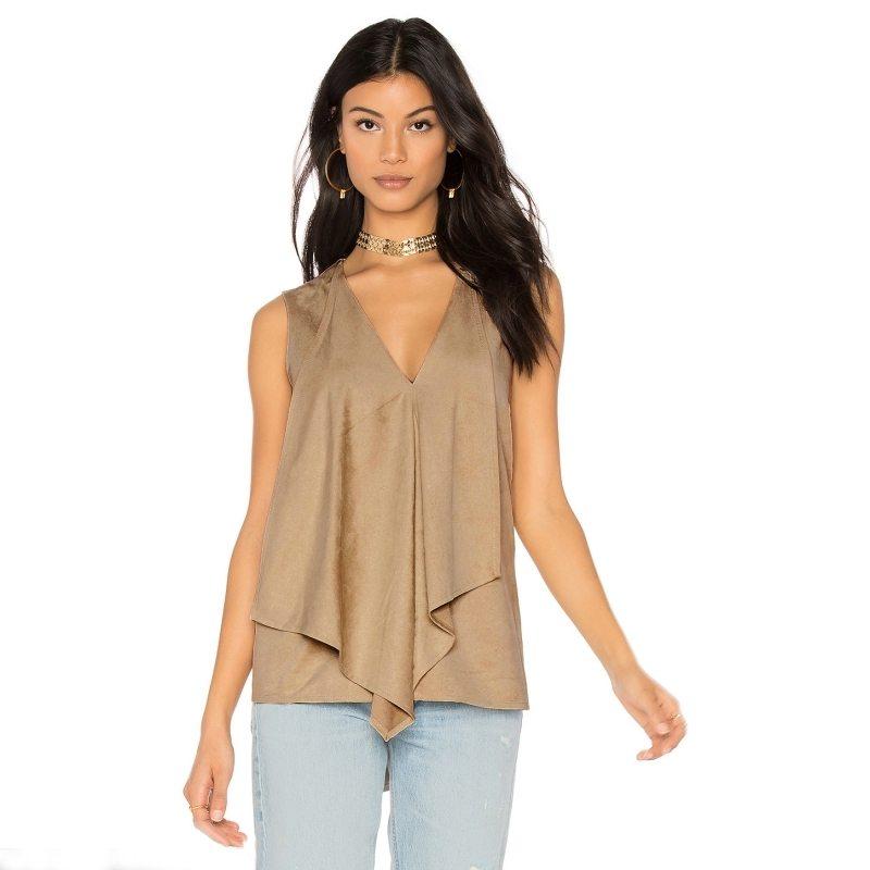 Pretty layered blouse