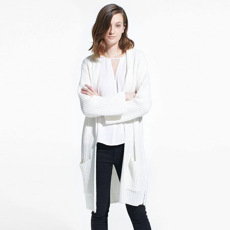 Comfy white cardigan