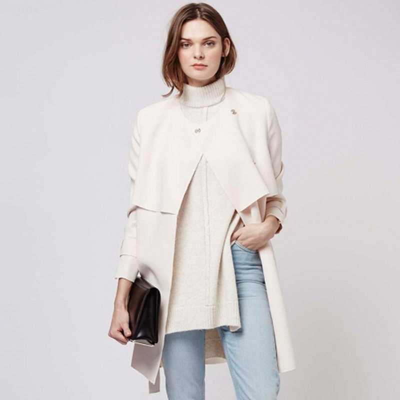 Sweet wrap coat