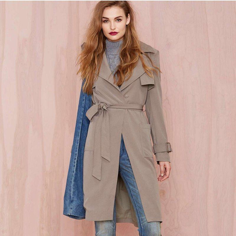 Fabulous beige trench coat