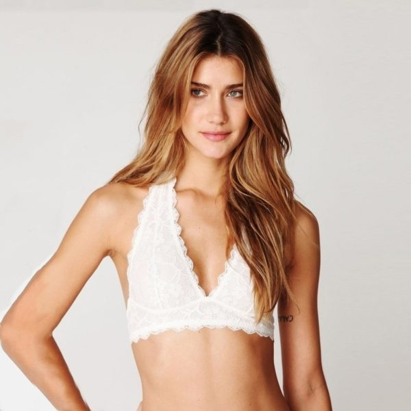 Perfectly white bikini style bra