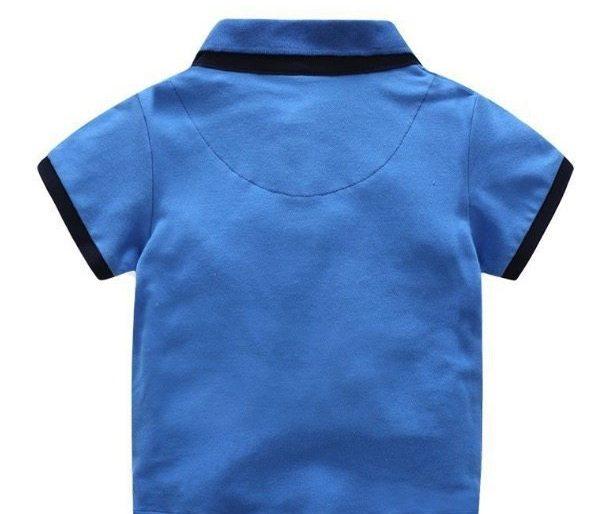 Smart casual polo shirt set