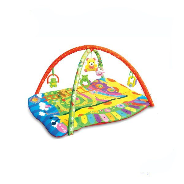 Colourful playmat