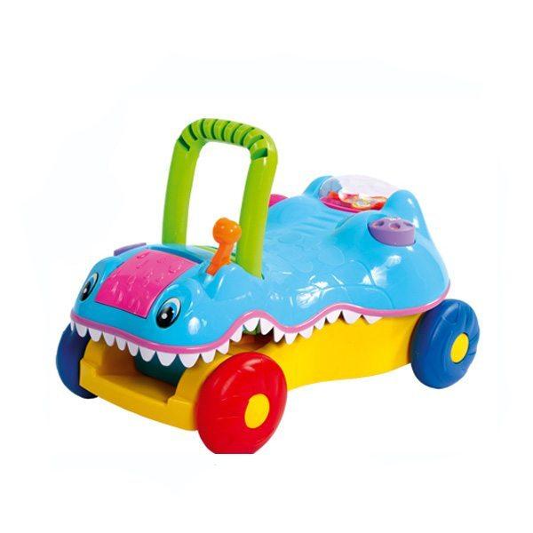 Bold coloured kiddies ride along