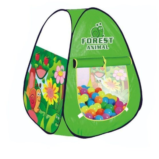 Forest animal ball pit