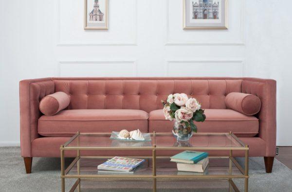 Autumn auburn 2 seater sofa