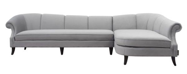 Contemporary right corner sofa