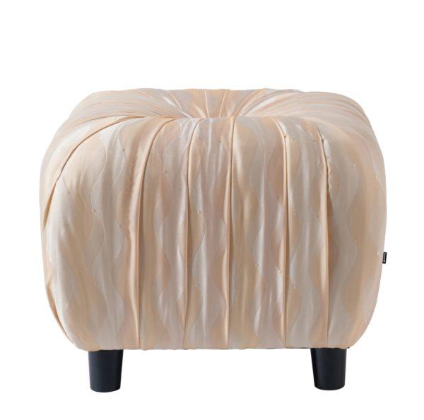 Elegant eggshell foot stool