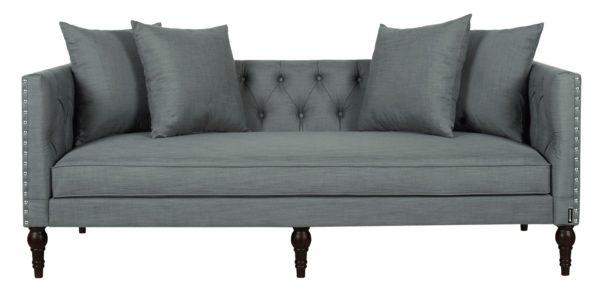 Lavish grey 2 seater sofa