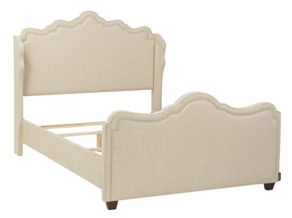 Perfection cream bed frame