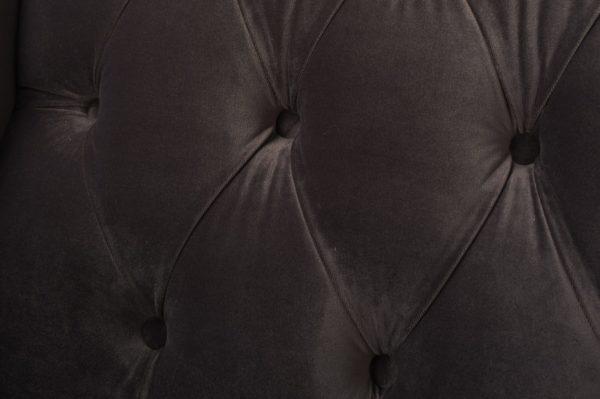 Dark chocolate 2 seater sofa