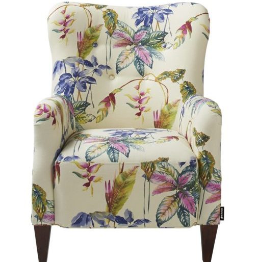 Beautiful floral armchair