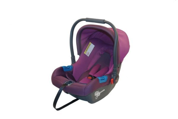 Purple baby carrier & baby seat