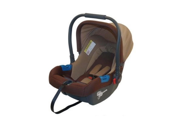 Brown baby carrier & car seat