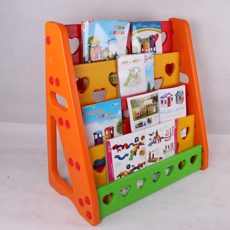 Vibrant book shelf