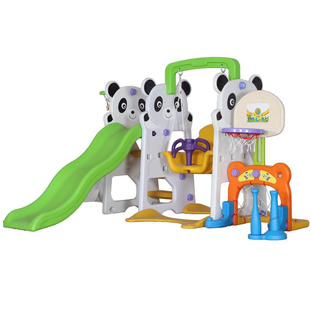 Panda slide fun