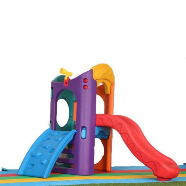 Colourful slide set