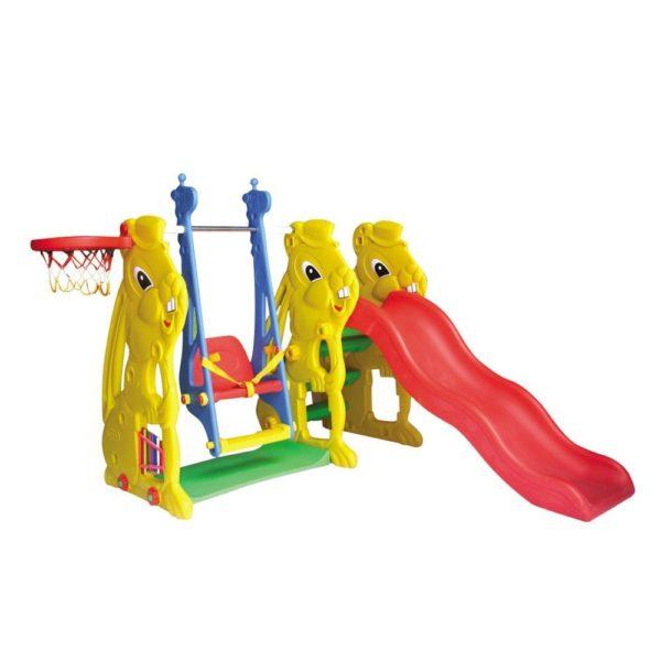 Animal slide & swing set