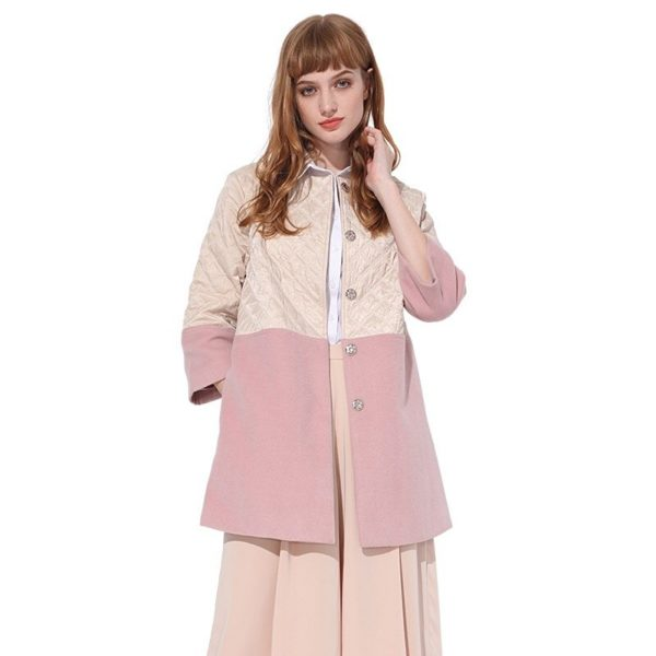Sophisticated rose jacket