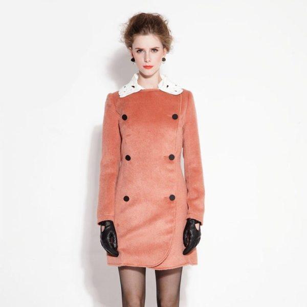 Beauty faux fur coat