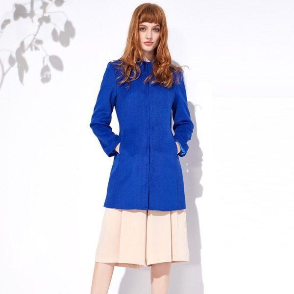Blue beauty winter coat