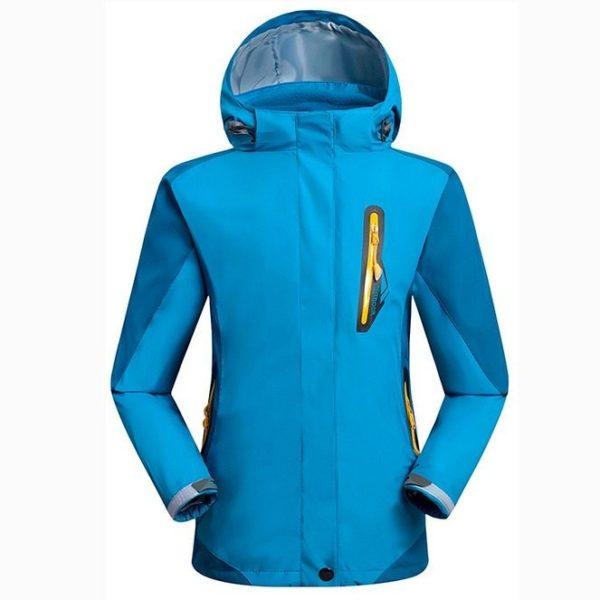 Waterproof mountain jacket