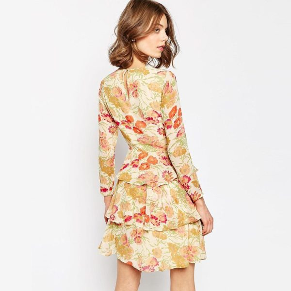 70's spring floral chic