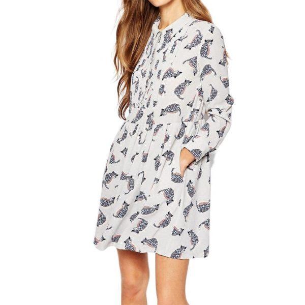 Pretty stylish patterned dress