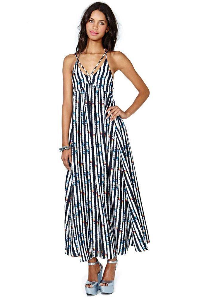 Fabulous lined maxi dress