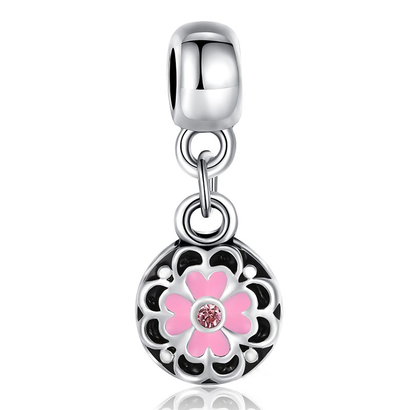 Quirky floral charm