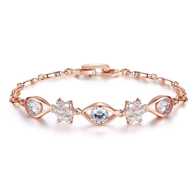 Star struck gem encrusted bracelet
