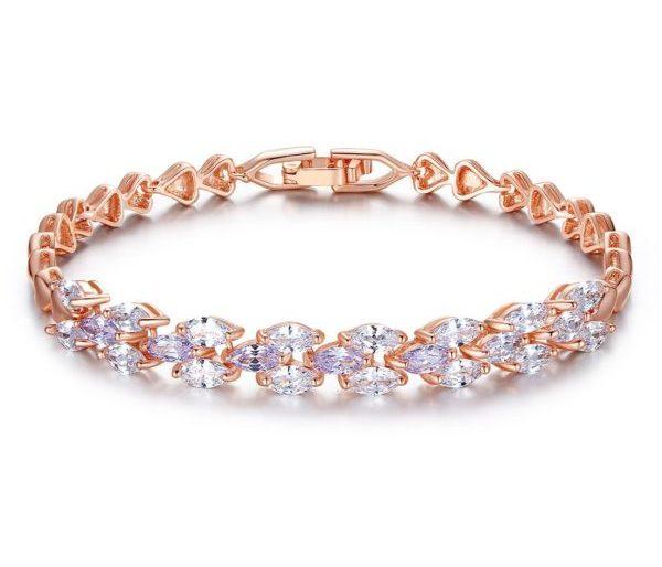 Evening gem encrusted bracelet