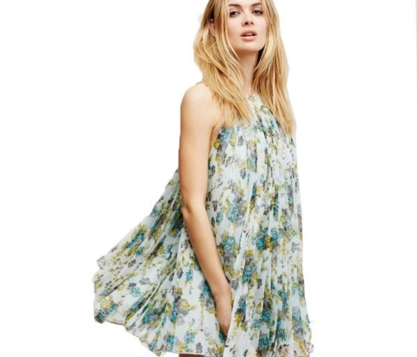 Angelic floral dress