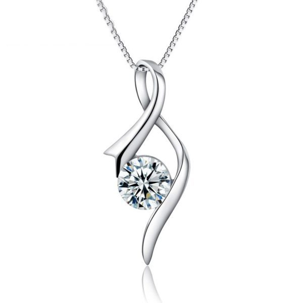 Classy evening necklace
