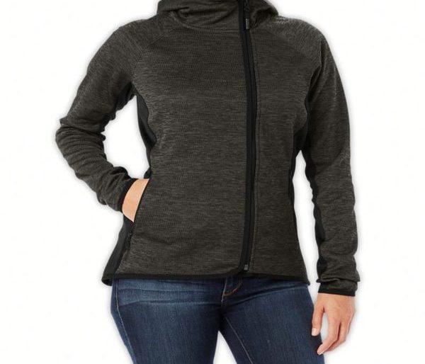 Side zipped hoodie