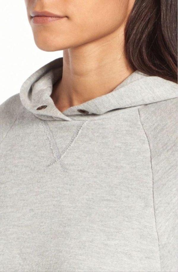 Weekend grey hoodie
